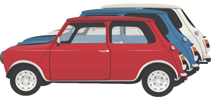 Classic Cars On The Big Screen By Gazebo Shop